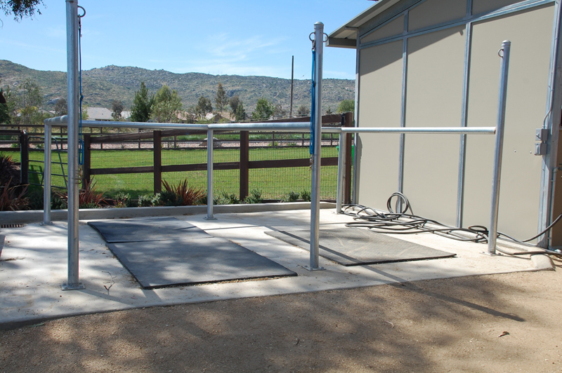 posts racks chutes fcp building