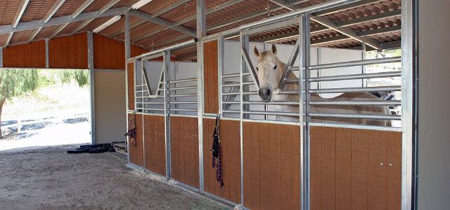 Shedrow barns fcp building for Horse farm house plans