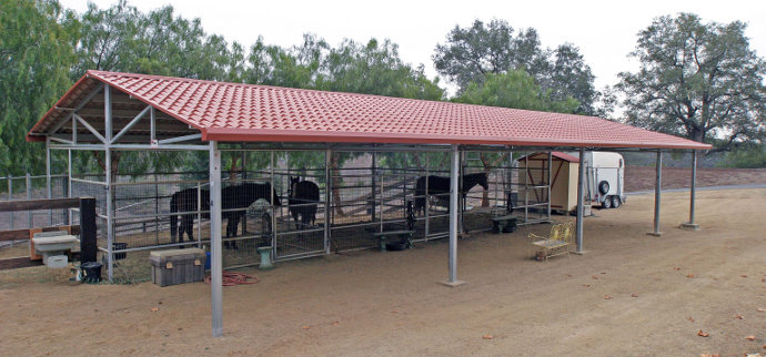 Corrals and Shelters