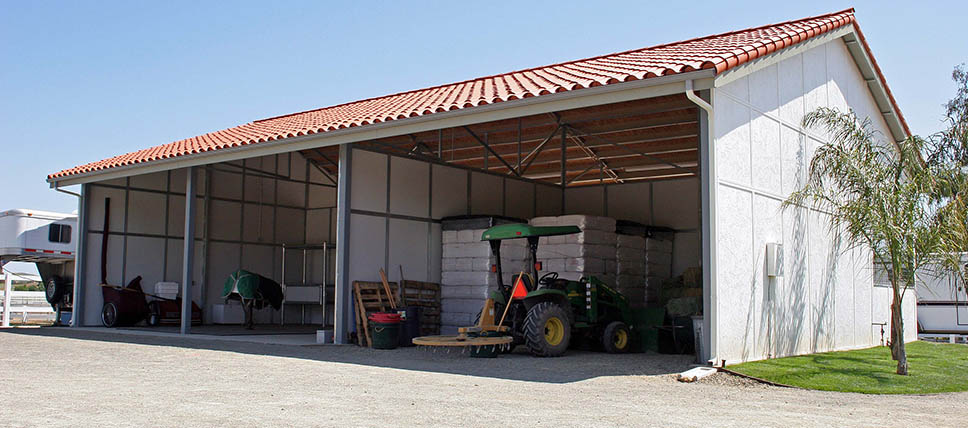 Hay Equipment Storage Fcp Building