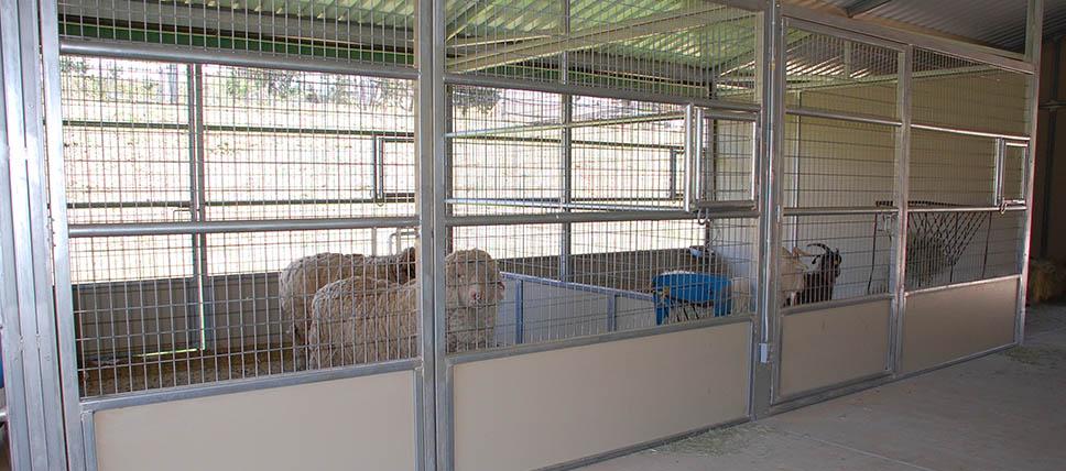 Livestock Stalls Fcp Building