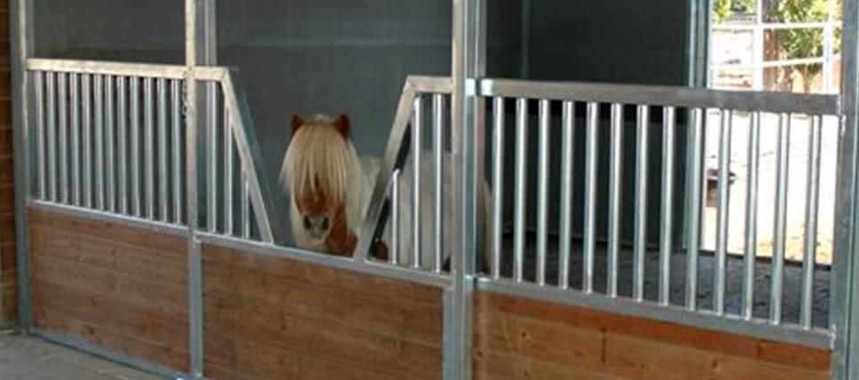 Mini Horse Stalls Fcp Building